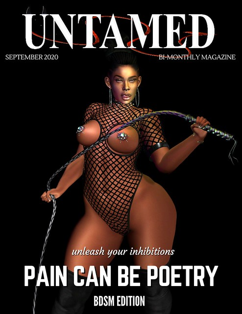 UNTAMED SEPTEMBER 2020 COVER