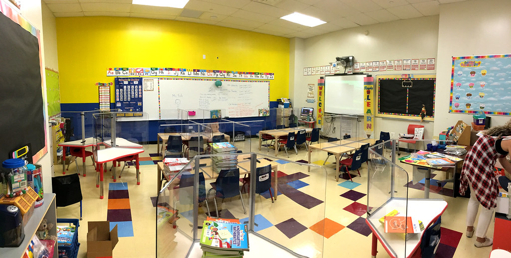 Kindergarten classroom–U North Carolina
