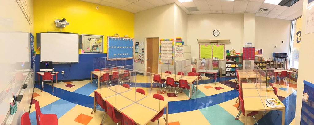1st Grade classroom—Harvard