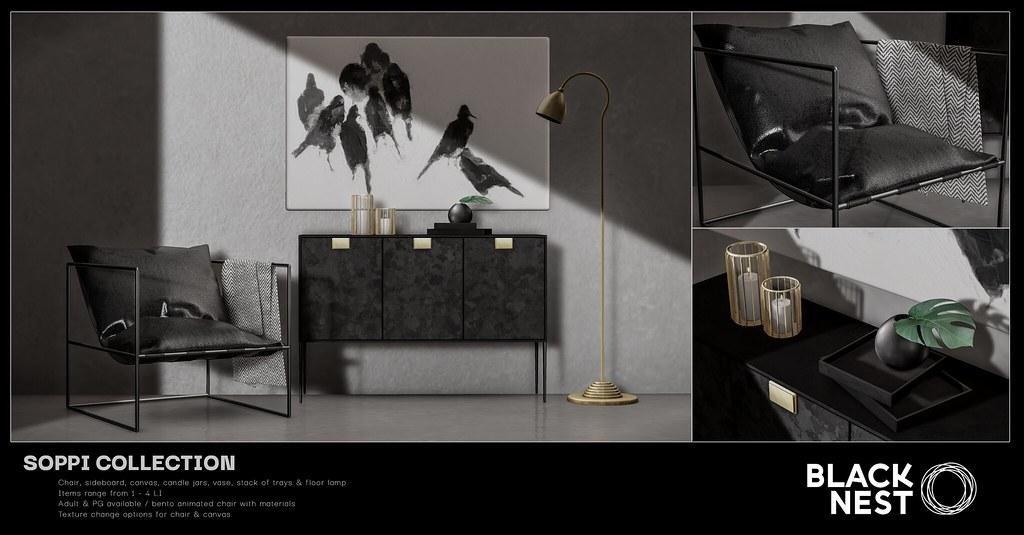 BLACK NEST / Soppi Collection / Fifty Linden Friday