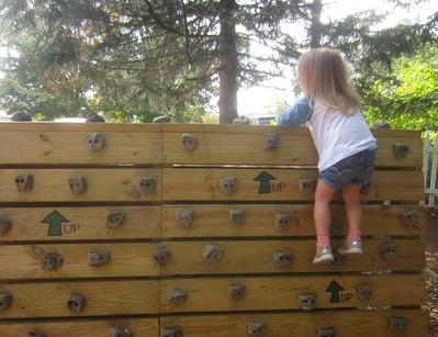 a brave climber