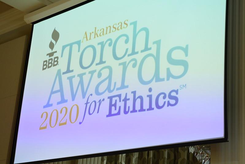 Arkansas Better Business Bureau Torch Awards Sep. 2020