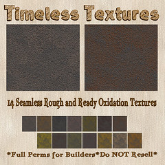 TT 14 Seamless Rough and Ready Oxidation Timeless Textures