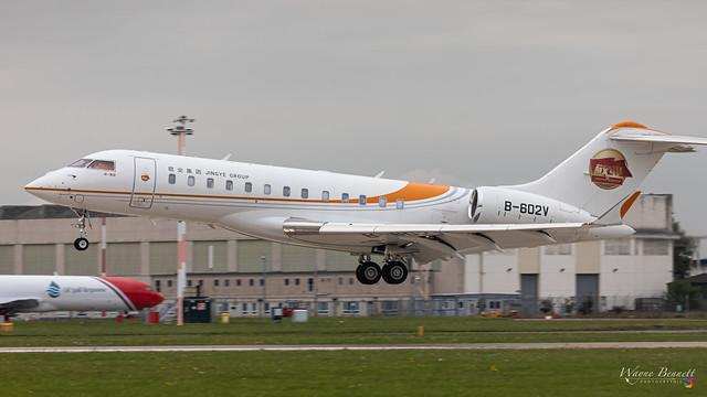 Global Express B-206V DSA 2020-09-10
