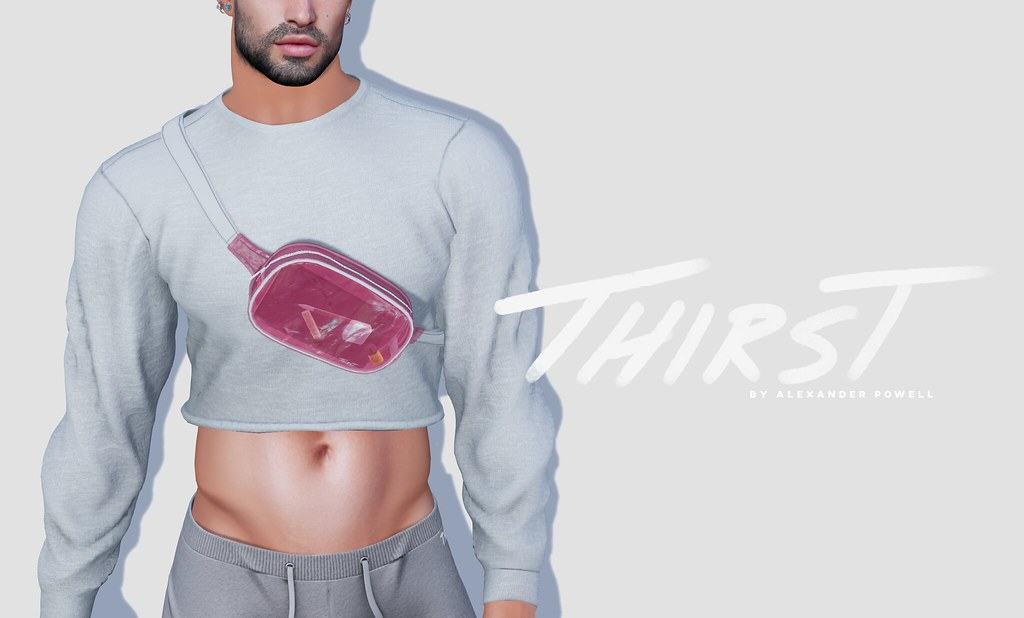 Thirst -  Crop Pull Over @ equal10