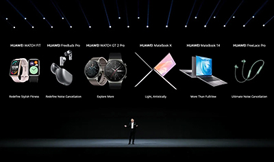 Six new products for Huawei's 1+8+N ecosystem.