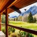 Porch Landscape - Alberta Canada