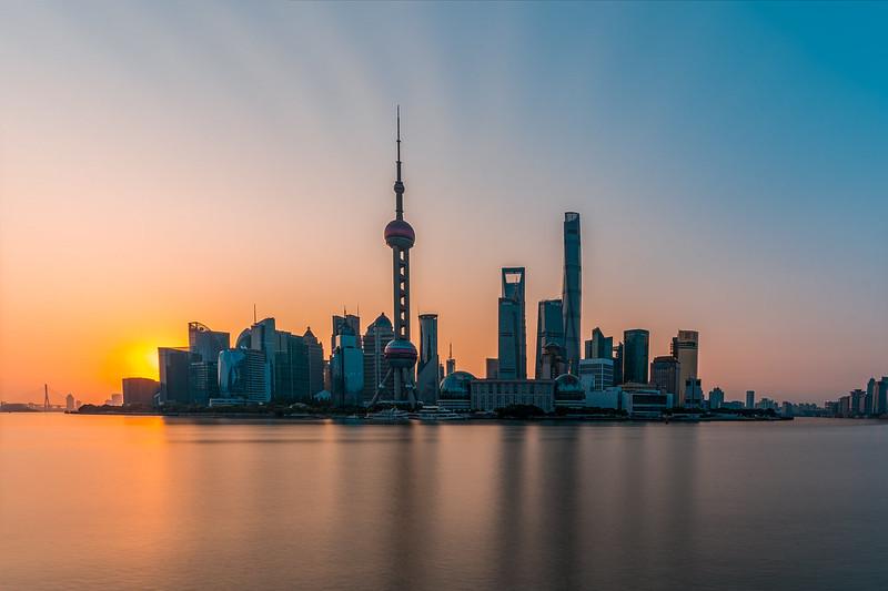 Amanecer en Shanghai desde diferentes vistas. en Urbana y Arquitectura50328074413_35b67a1b08_c