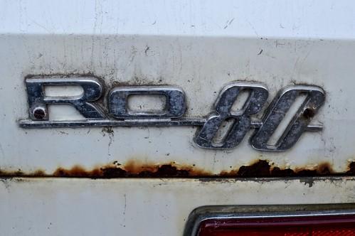 Ro 80 Rear Emblem