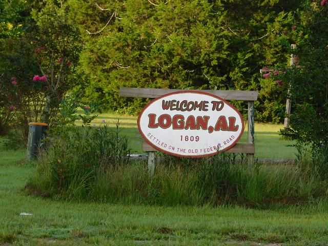 Welcome to Logan, Alabama