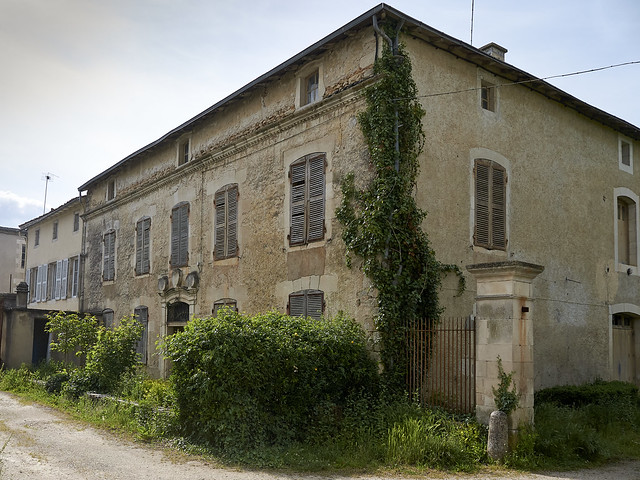 Old house in Civray   France 2012