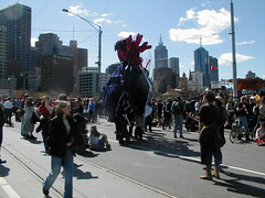 S11 (Day Three S13) Melbourne anti-globalisation protest against World Economic Forump9130007