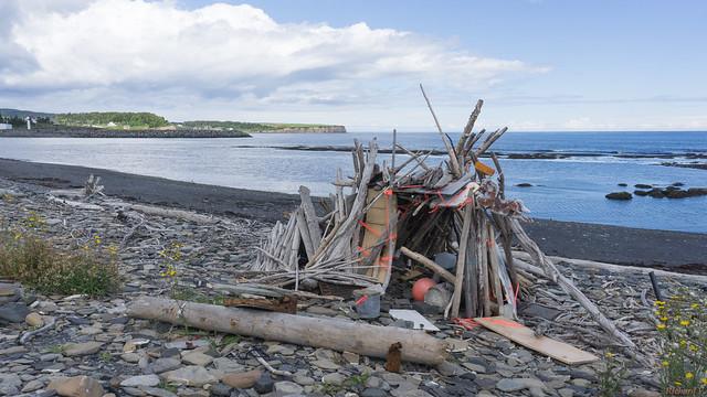 Abri - L'Anse-au-Griffon, Gaspésie, P.Q., Canada - 5317
