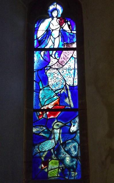 Chagall glass at Tudeley