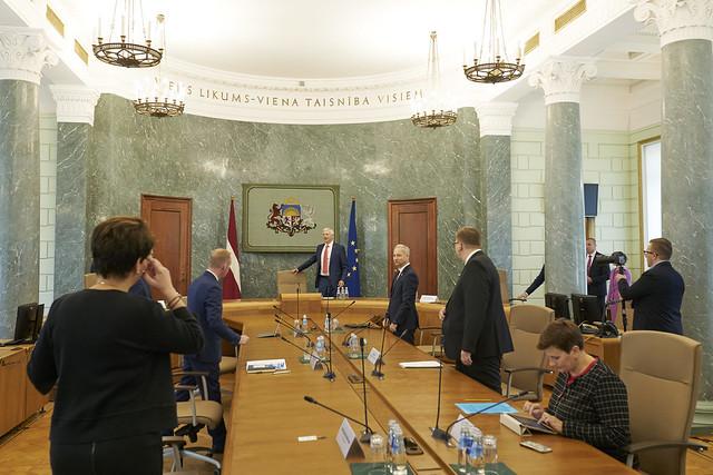 11.09.2020. Latvijas valdības un Ārvalstu investoru padomes Latvijā augsta līmeņa tikšanās