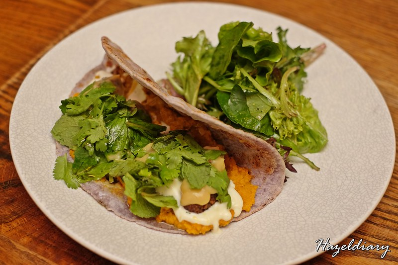 Blue Pea Flower Naan Sandwich - The Butcher's Wife