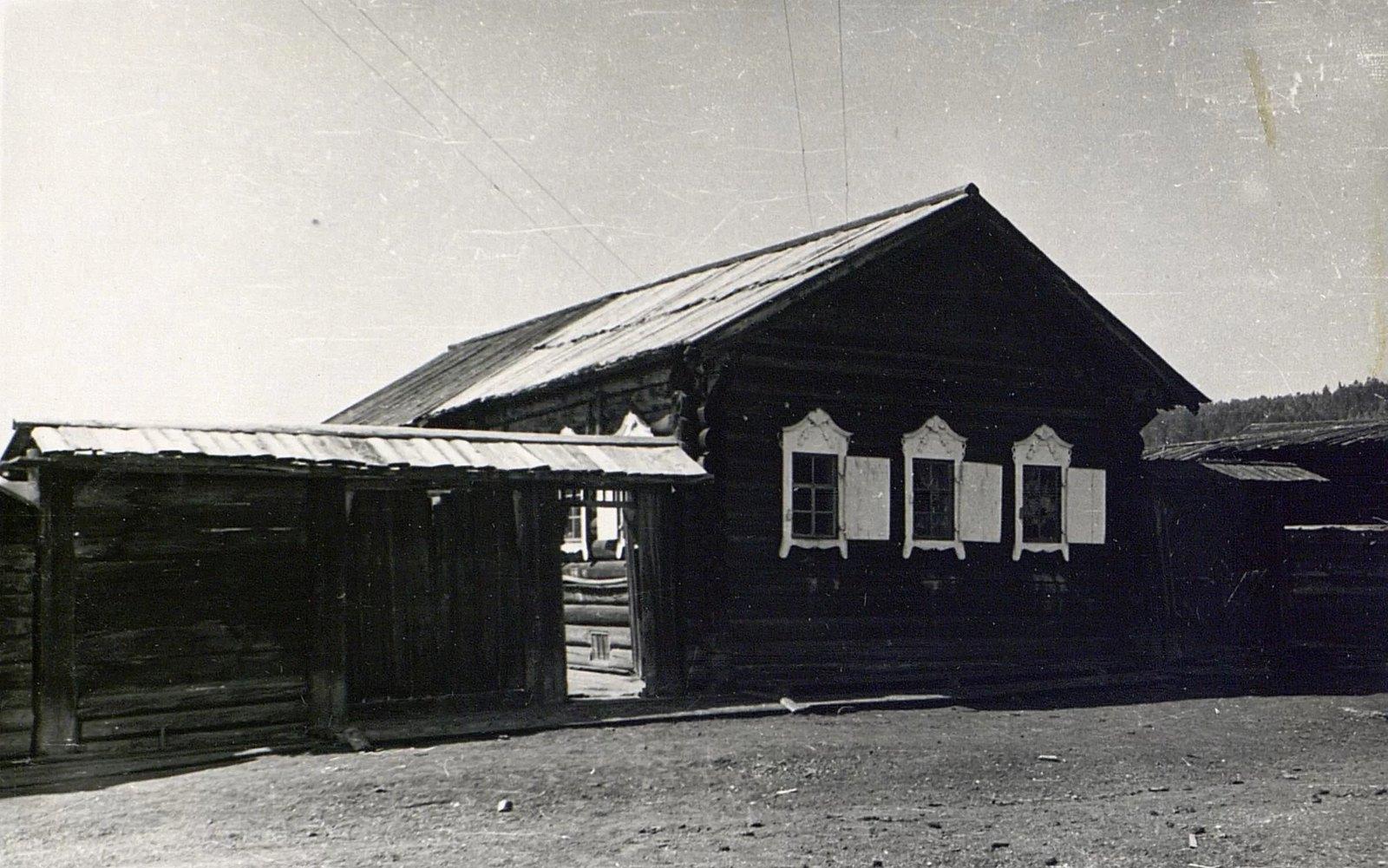Дом Е.Н. Чунина (вид с улицы)