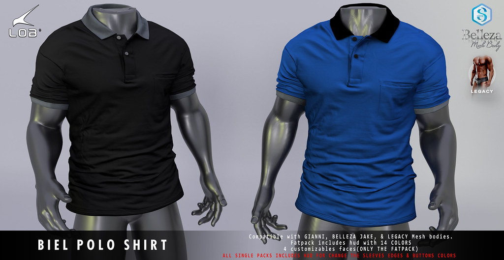 [LOB] BIEL POLO SHIRT