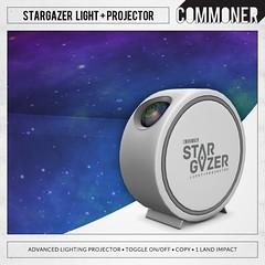 [Commoner] StarGazer Light + Projector