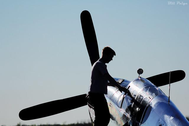 Walking through the P-51 Check List