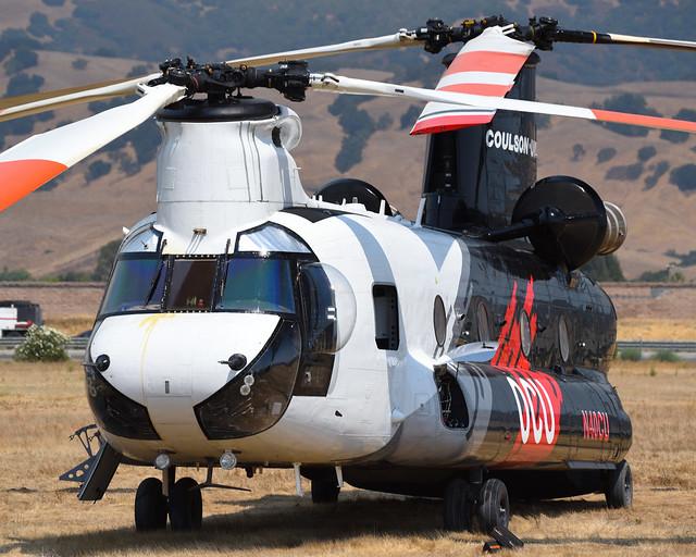 Coulson CH-47D N40CU