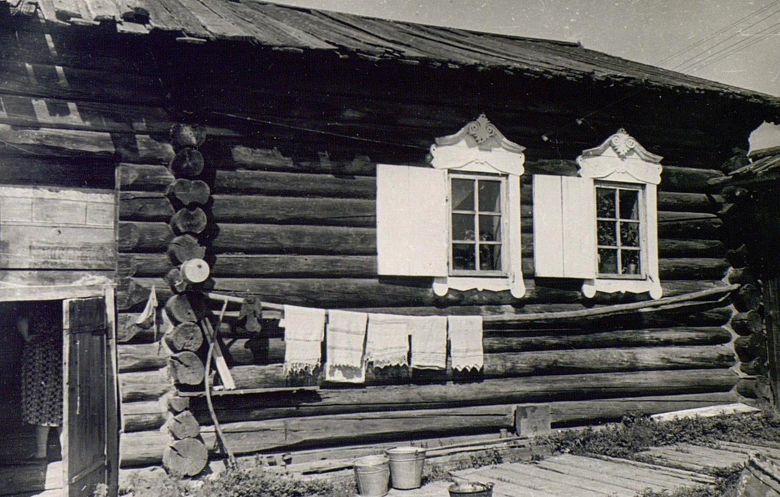 Дом Е.Н. Чунина (вид со двора)