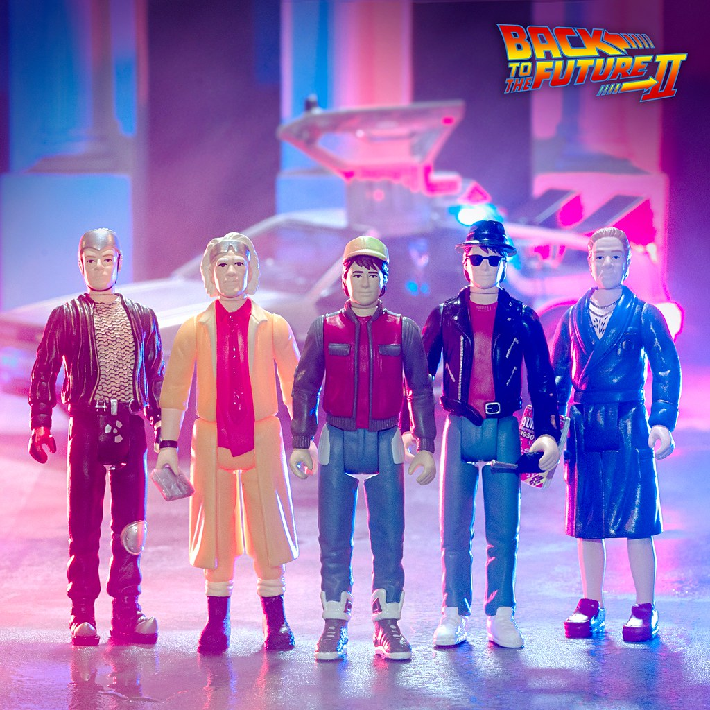 Super7《回到未來II》ReAction Figure 五款新作發表!