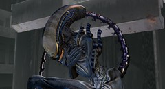 Alien Xenomorph Mesh body & head