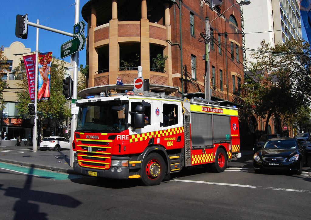 Fire Appliance, Darlinghurst, Sydney, NSW.