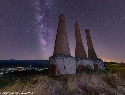 An old Cement and Brick Factory abandoned, in the Light of the Stars ..........., Una vieja Fabrica de Cementos y Ladrillos abandonado, a la Luz de las Estrellas........... | by Joerg Kaftan
