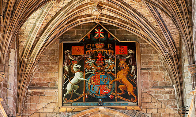 The Royal Arms in St Giles Cathedral, Edinburgh