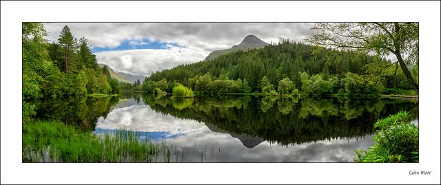 Shades of Green - Lochan Water - Glencoe - (Spot the Duck) - 2020-08-01st
