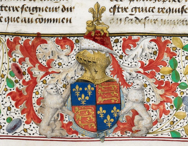 Master of the London Wavrin. BL. Ms Royal 15E IV, fol. 14r