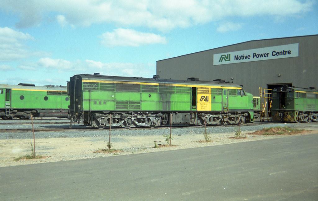 Locomotive 934 by David Arnold