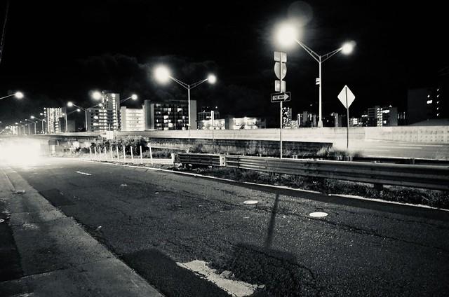 H-1 at night
