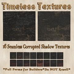 TT 16 Seamless Corrupted Shadow Timeless Textures