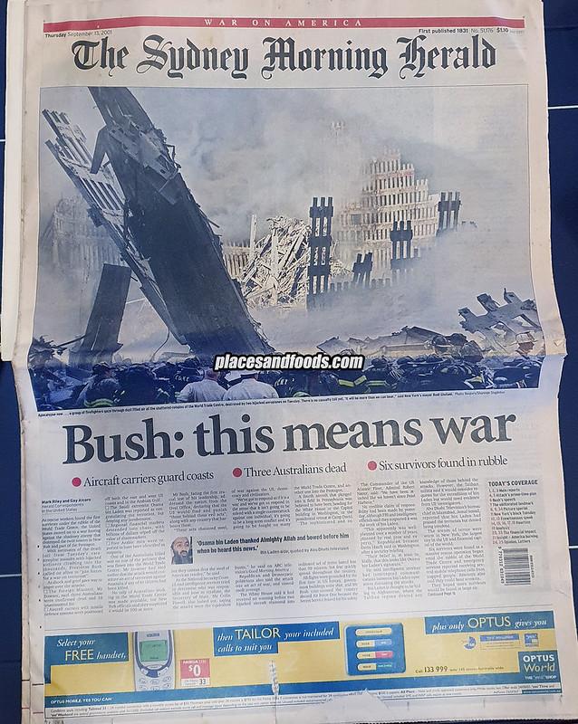 september 11 2001 sydney herald