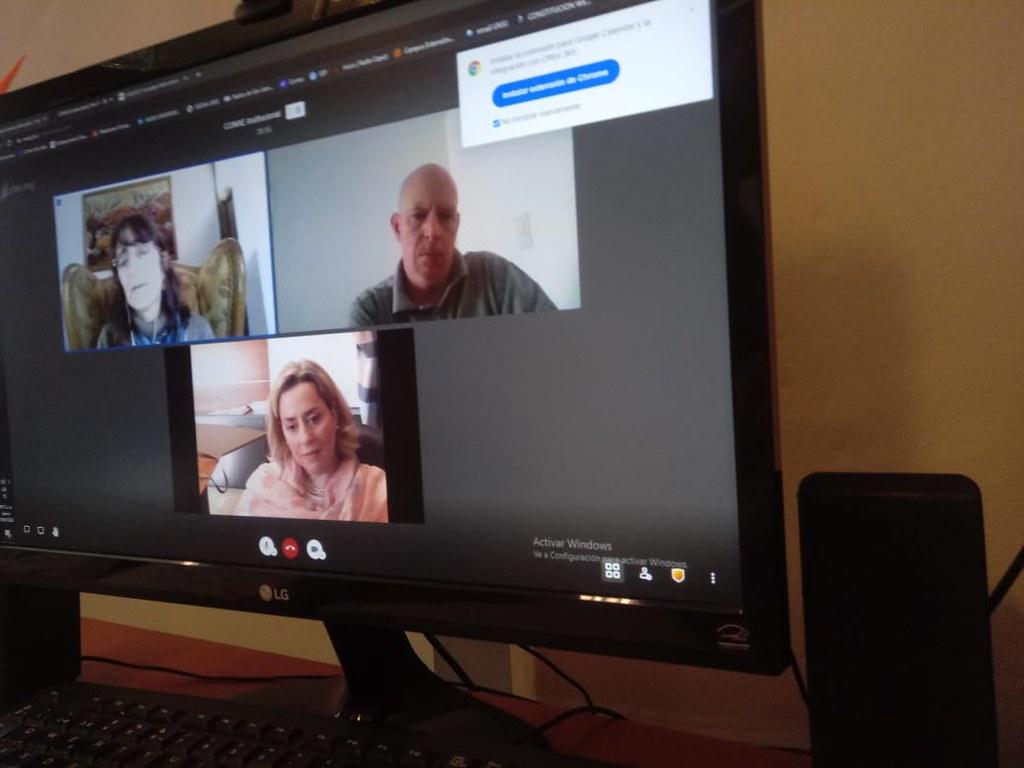 SECITI y CONAE se reunieron por videoconferencia para establecer tareas en conjunto
