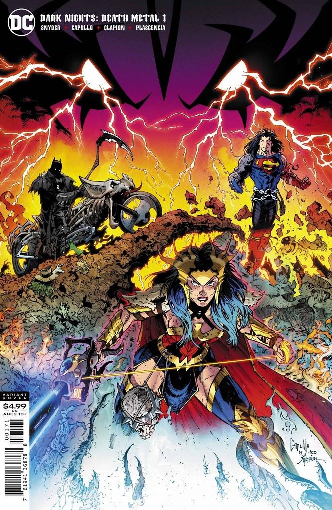 DC Multiverse 系列《Dark Nights: Death Metal》蝙蝠機車 曝光!