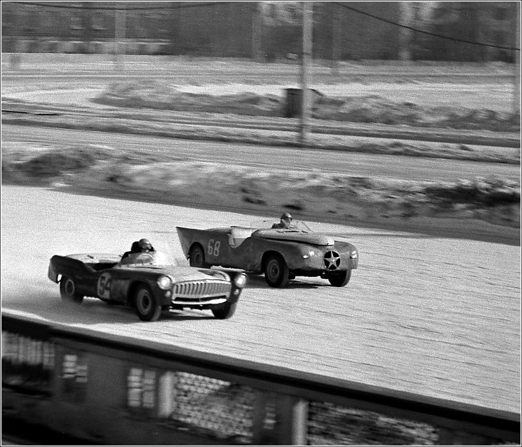 144. 1964. Московский ипподром. Зимние гонки