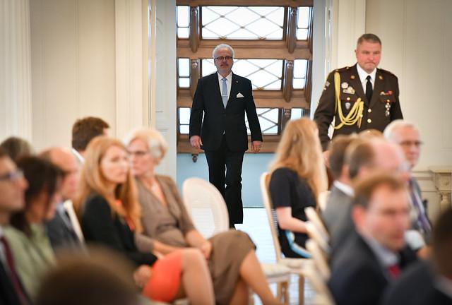 11.09.2020. Valsts prezidenta Egila Levita tikšanās ar Ārvalstu investoru padomes Latvijā (FICIL) biedriem
