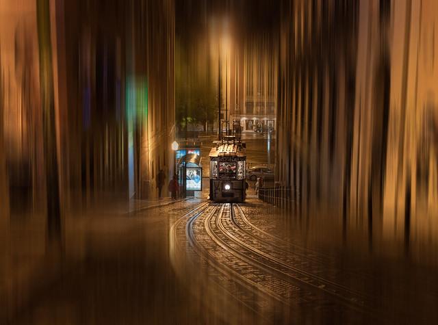 Lisbon Tram colour