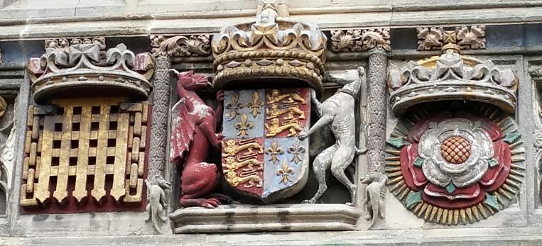 Christ Church Gate, Canterbury, 1517