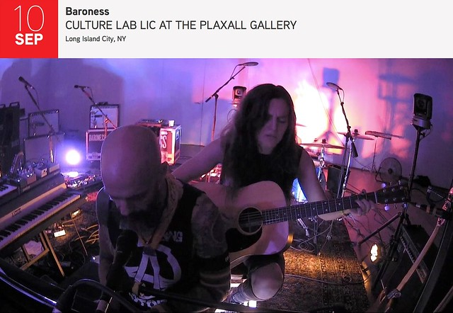 Baroness Pull Back the Veil on 'Gold & Grey' at New York's Plaxall Gallery [Show Review]