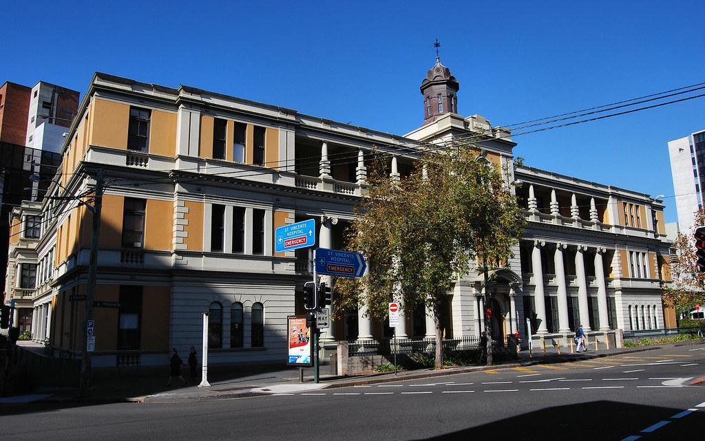 St Vincent Hospital, Darlinghurst, Sydney, NSW.