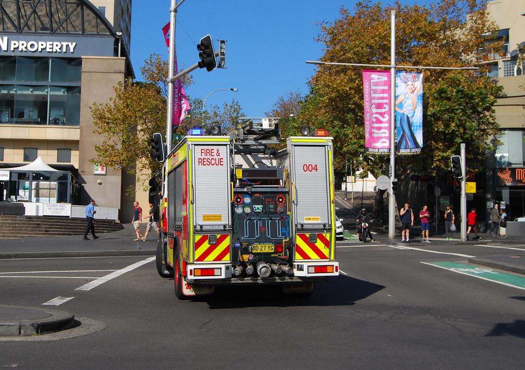 Fire Appliance, Darlinghurst, Sydney, NSW. 1