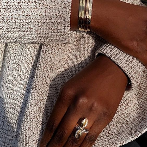 Le Cauri Endiamante Ibeji Diamond Ring
