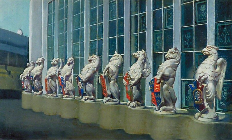 The Queen's Beasts, Molly Guion, 1953, Government Art Collection