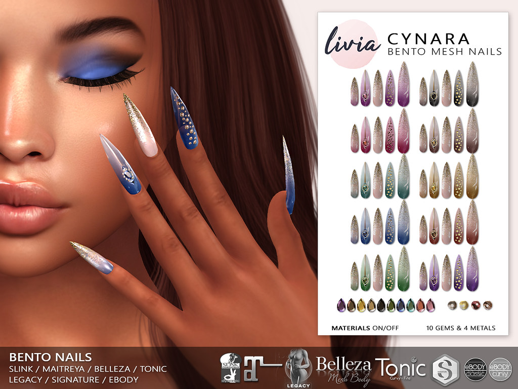 LIVIA // Cynara Bento Nails @ Signature Event!