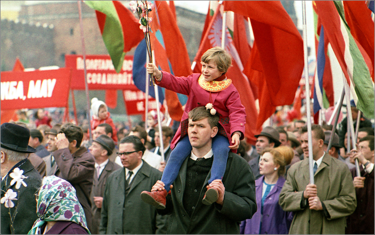161. 1970. Красная площадь, 1 мая